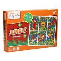 Ludos Pixel by Number Startset - Jungle, 1250st.