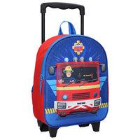 Brandweerman Sam 3D Trolley Rugzak