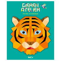 Kleur- en Stickerboek Dierenatelier