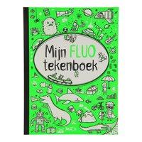 Mijn Fluo Tekenboek voor Jongens