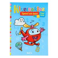 Kleuterklas Speel en Leer Helikopter Spelletjesboek 4+