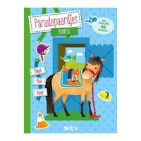 Paradepaardjes met Stickers - Pony's
