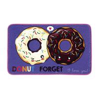 Fleece Kleedje Donuts, 75x45cm