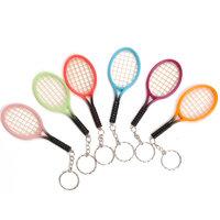 Sleutelhanger Tennisracket Neon