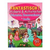 Fantastisch Stickerboek - Prinses, Zeemeermin & Fee