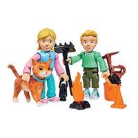 Brandweerman Sam Speelfiguren - Sarah, James en Lion