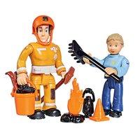 Brandweerman Sam Speelfiguren - Penny en Elvis