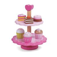 Classic World Houten Cupcakes met Etagère, 10dlg.