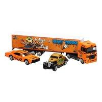 Die-Cast Vrachtwagenset - Oranje