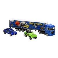 Die-Cast Vrachtwagenset - Blauw
