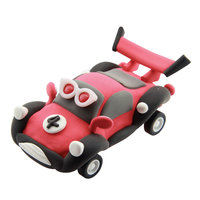 Super Dough Raceauto - Rood