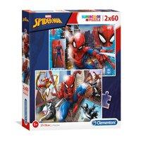 Clementoni Puzzel Spiderman, 2x60st.