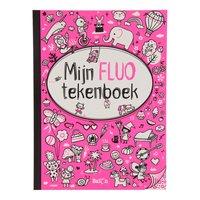 Mijn Fluo Tekenboek voor Meisjes