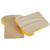 Houten Geroosterd Brood, per stuk