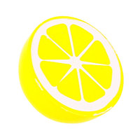 Houten Halve Limoen, per stuk
