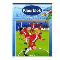Kleurblok Voetbal
