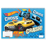 Hot Wheels Schetsboek met Stencils & Stickers
