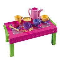 Speeltafel met Servies