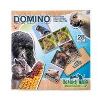 Comedy Wildlife Houten Domino, 28dlg.