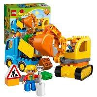 LEGO DUPLO 10812 Rupsband Graafmachine