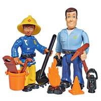 Brandweerman Sam Speelfiguren - Sam en Ellie