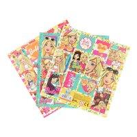 Barbie Stickervel