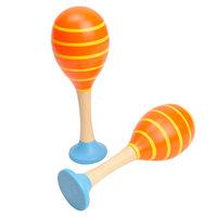Houten Sambaballen - Oranje