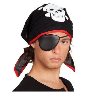 Piraat Bandana met Ooglap