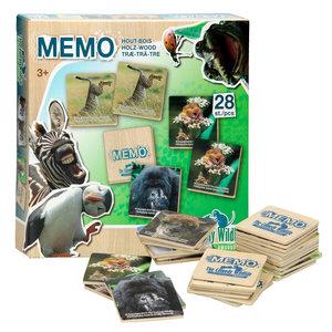 Comedy Wildlife Houten Memo, 28dlg.