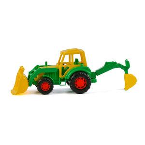 Polesie Tractor met Voorlader Groen