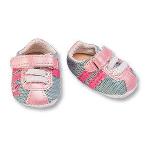 Poppen Sportschoenen - Roze/Grijs, 38-45 cm