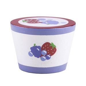 Houten Yoghurt, per stuk