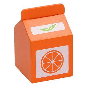 Houten Pak Jus d'Orange, per stuk