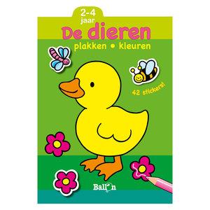Plakken en Kleuren - De Dieren, 2-4 jaar