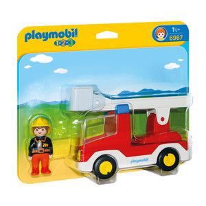Playmobil 6967 Brandweerwagen met Ladder