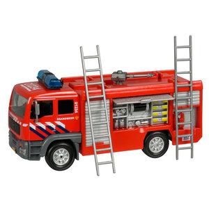 Brandweer Blusauto met Licht en Geluid