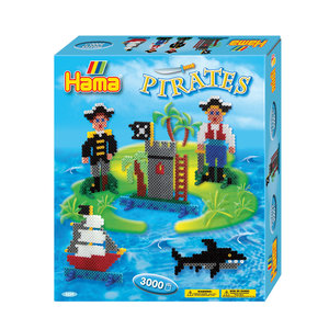 Hama Strijkkralenset - Piraten, 3000st.