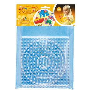 Hama Strijkkralenbordjes Maxi - Vierkant en Cirkel