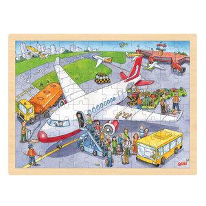 Puzzel Vliegveld, 96st.