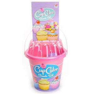 Cup Cake Strandset in Emmer Roze