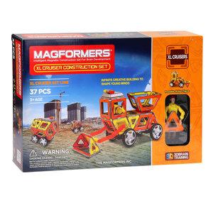 Magformers XL Bouwvoertuigen, 37dlg.