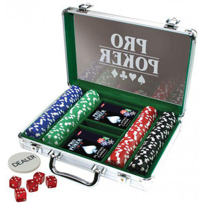 Pro Pokerkoffer, 200 chips