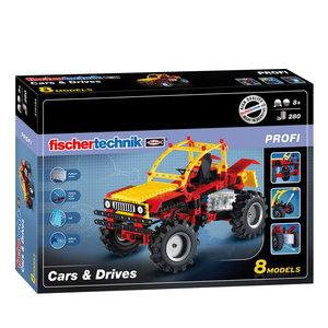 Fischertechnik Profi - Cars & Drives, 280dlg.
