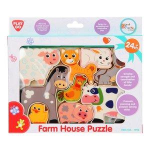 Playgo Puzzel Boerderijdieren