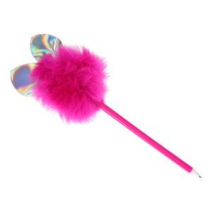Fluffy Pen met Glinsterende Oren